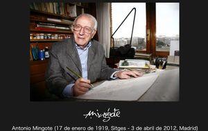 Foto: Fallece el gran ilustrador Antonio Mingote