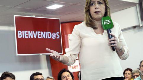 La 'guerra de autobuses' enfanga el gran acto pensado para gloria de Susana Díaz