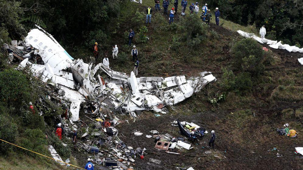 Accidente de avión del Chapecoense: Así fue el accidente ...