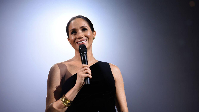 Foto: Meghan Markle, en los Fashion Awards. (Getty)