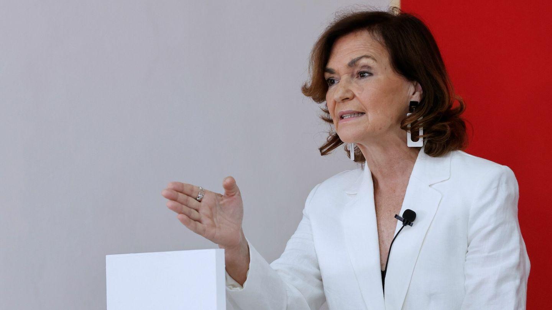 La exministra Carmen Calvo. (EFE)