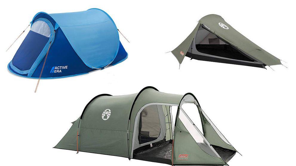 Las mejores tiendas de camping del mercado para todas las situaciones