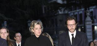 Post de El adiós definitivo a Pilar de Borbón sin la familia real en la Almudena