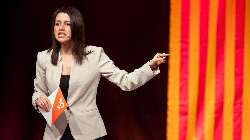 Foto: La cabeza de lista de Ciudadanos al Congreso por Barcelona, Inés Arrimadas. (EFE)