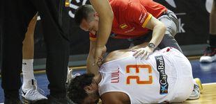 Post de Llull se rompe el ligamento cruzado anterior y dice adiós al EuroBasket