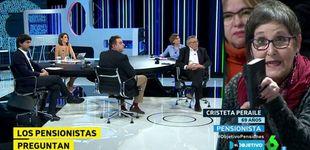 Post de Los pensionistas enfurecen contra el PP en 'El objetivo de Ana Pastor'