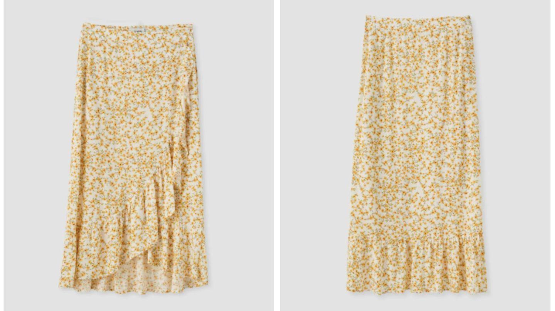 La falda de Pull and Bear. (Cortesía)