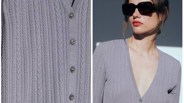 Una chaqueta con inspiración Hollywood en Zara. (Cortesía)