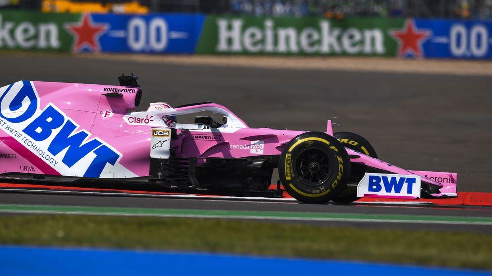 Foto: Nico Hulkenberg durante la clasificación del GP de Eifel. (EFE)