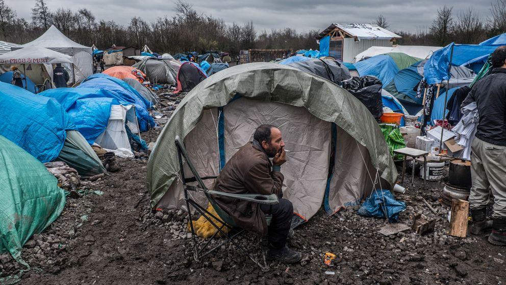 Los últimos días de 'la ciénaga' de los refugiados
