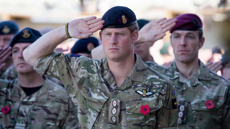 El príncipe Harry, en Afganistán. (Getty)
