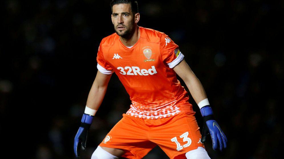 Foto: Kiko Casilla, en un partido con el Leeds este curso. (Reuters)