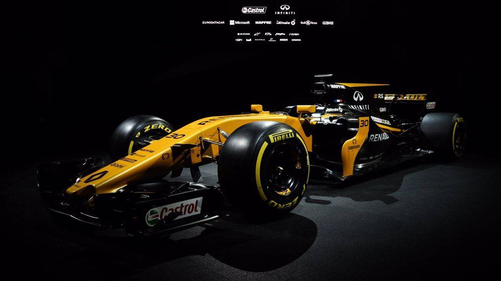 Foto: El nuevo monoplaza de Renault, el RS17, ha sido presentado este martes.