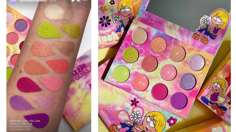 Paleta de sombras 'What dreams are made of' de ColourPop. (Instagram @colourpopcosmetics)