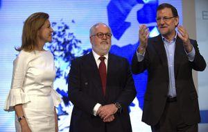 Rajoy: Es el candidato que algunos no querían ver ni en pintura