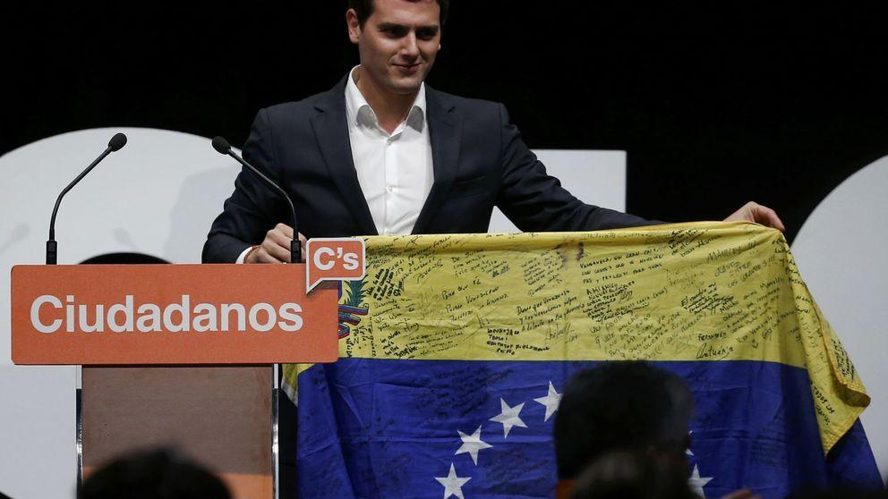 Rivera busca ser la voz de la oposición venezolana en España