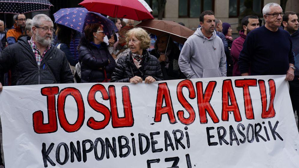 Foto: Manifestación en apoyo de Ternera. (Reuters)
