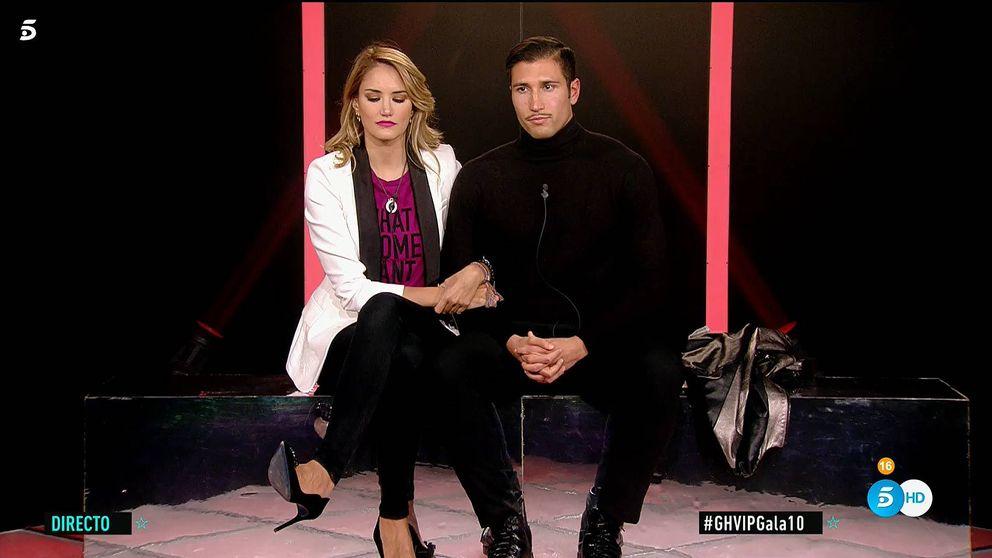 'GH VIP 7' | Alba Carrillo estropea la historia de amor: Gianmarco, expulsado