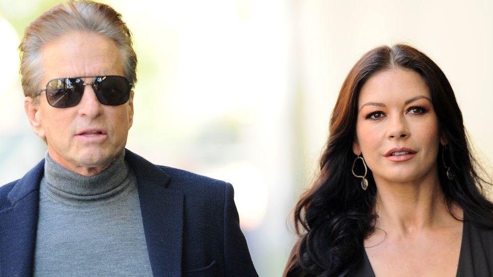 Michael Douglas y Catherine Zeta-Jones empiezan el año juntos