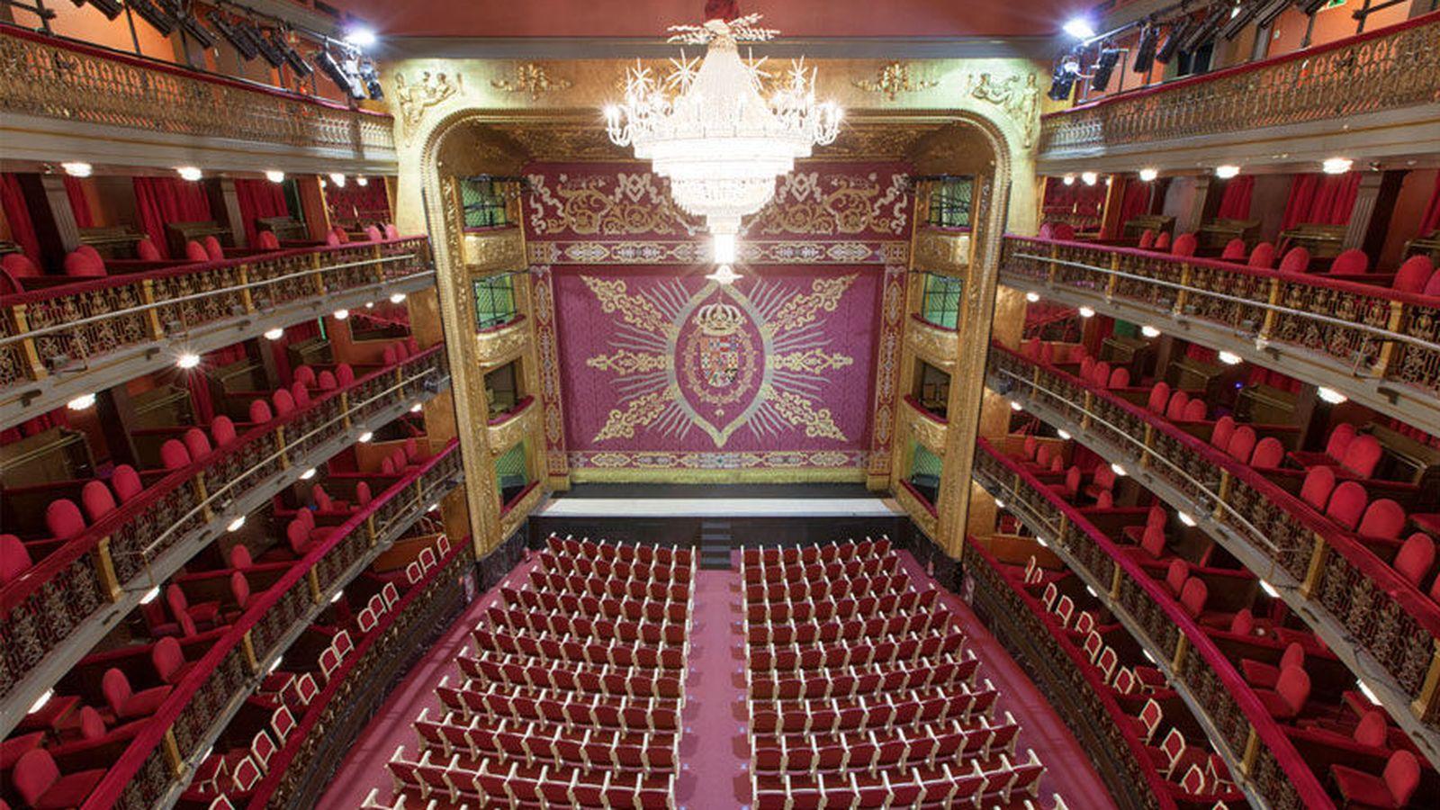 Foto: Sala principal del Teatro Español