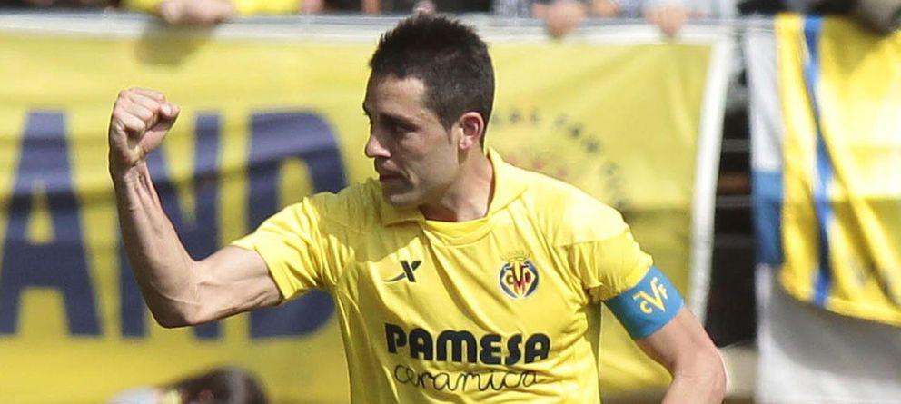 Foto: Bruno celebra un gol con el Villarreal esta temporada.