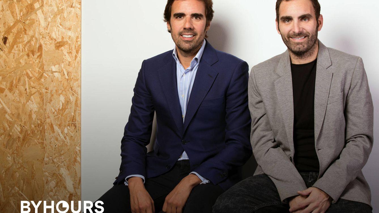 Foto: Los fundadores de ByHours, Guillermo Gaspart y Christian Rodríguez, han convencido a varias empresas del Ibex 35 para invertir en ellos.