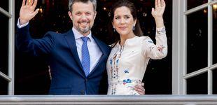 Post de Mary de Dinamarca, eclipsada por su suegra en el 'balcón real'