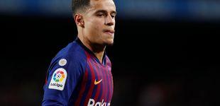 Post de Coutinho, un año lejos de las expectativas y sin sitio en el once del Barcelona