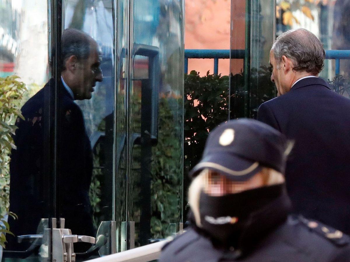 Foto: El expresidente valenciano Francisco Camps en la Audiencia Nacional en febrero de 2019 (EFE)