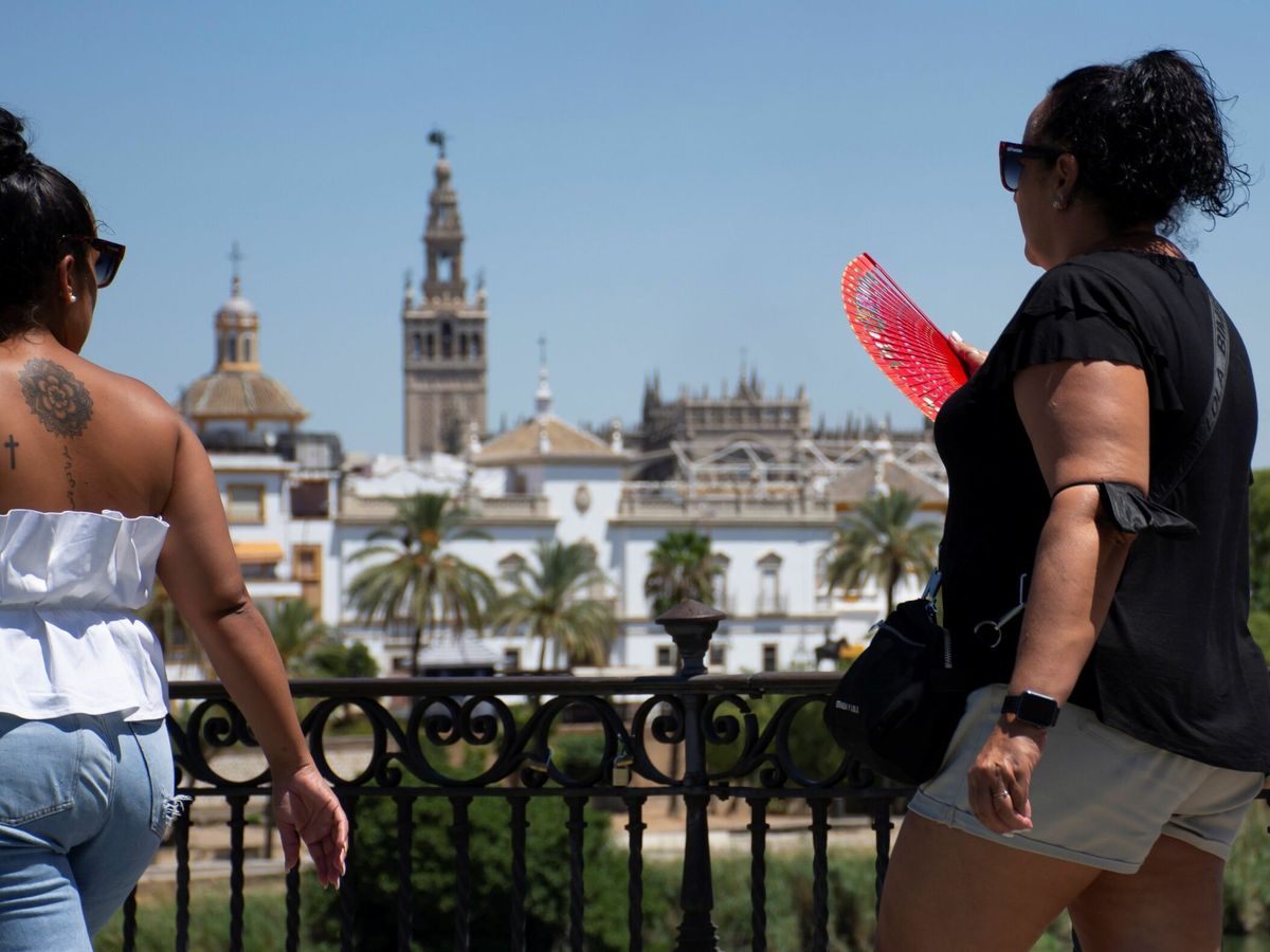 Foto: Intenso calor en Andalucía. (EFE)