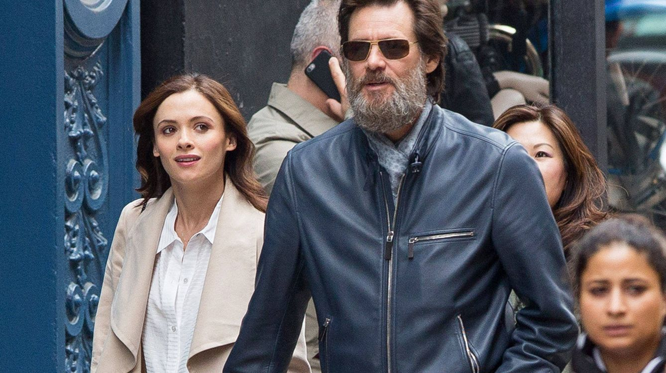 Foto: Jim Carrey y Cathriona White (Gtres)