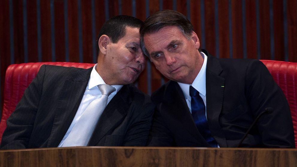 Conoces a Bolsonaro pero, ¿y a su segundo? Mourao, la disciplina militar en el Gobierno