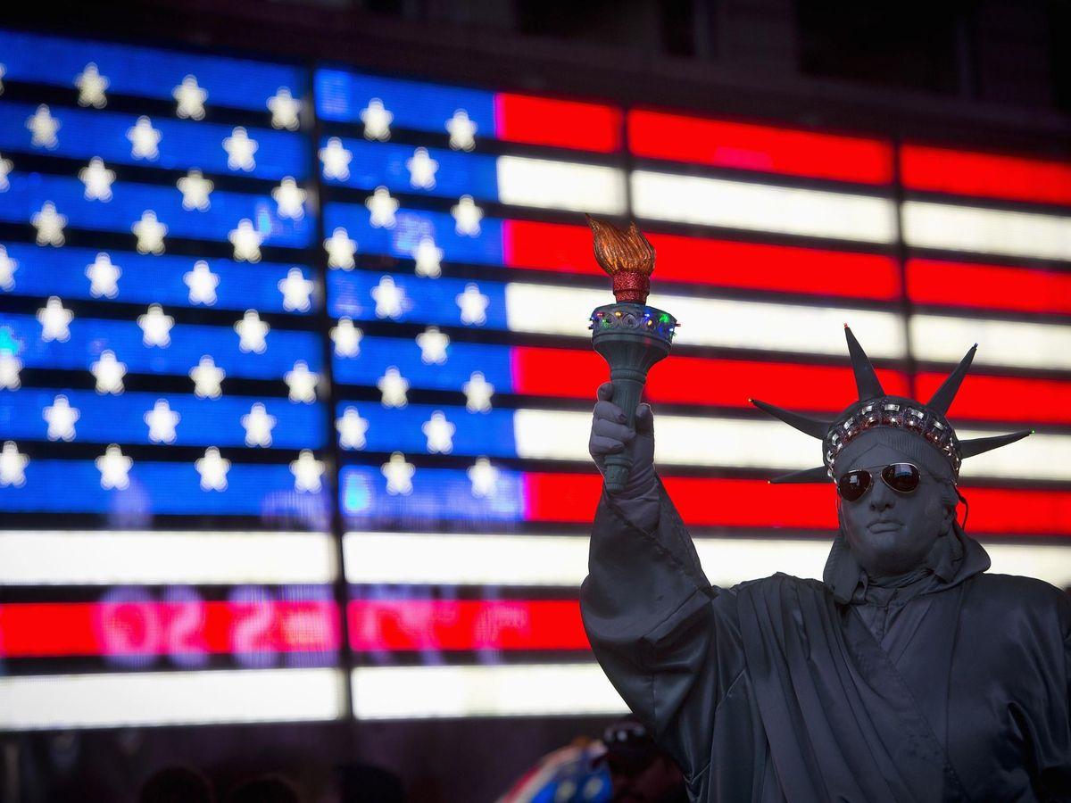 Foto: Una escena de Times Square, en Nueva York. (Reuters)