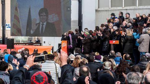 ¡Seguir, seguir y seguir!: el primer mitin virtual de Puigdemont abre la campaña