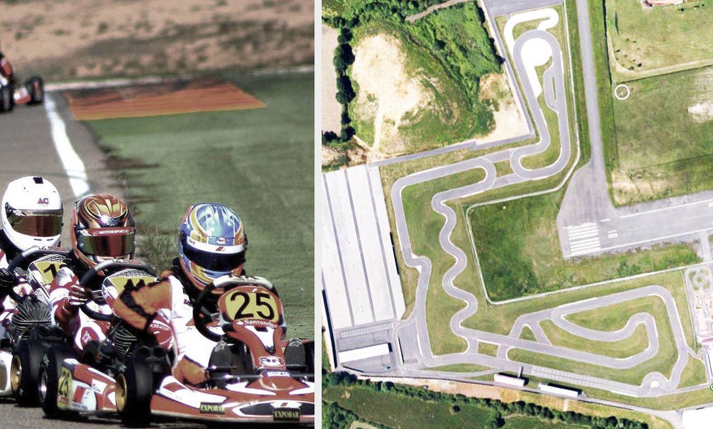 Foto: Trazado del circuito Fernando Alonso de Karts