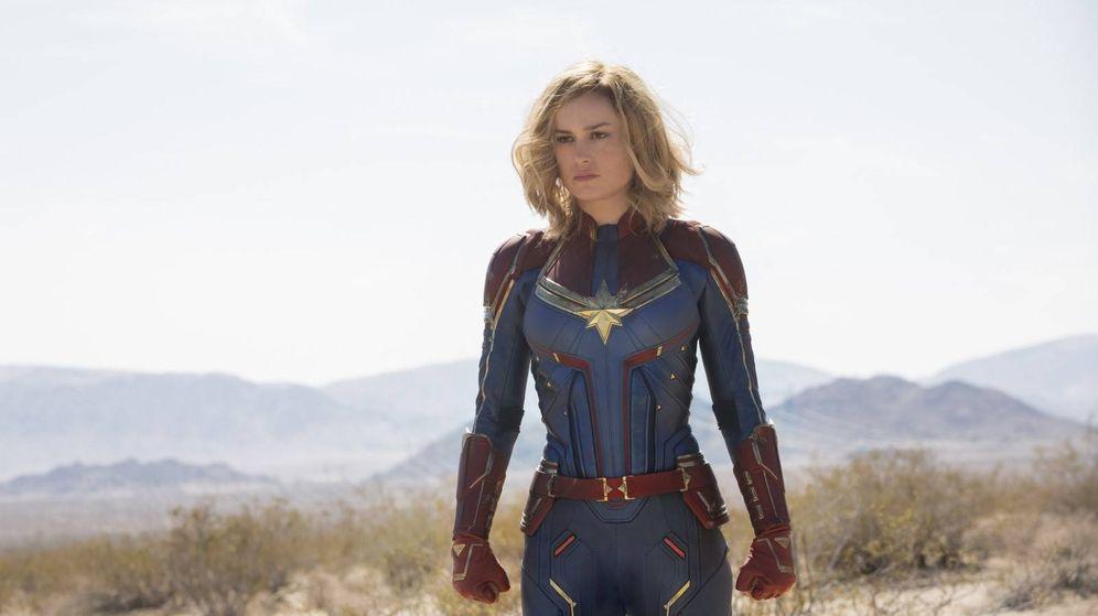 Foto: Brie Larson es la 'Capitana Marvel'. (Disney)