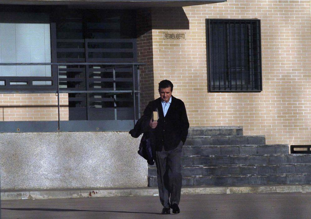 Foto: Jaume Matas abandona la cárcel la semana pasada (Efe)