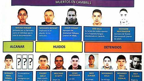 Quién es quién en la célula yihadista