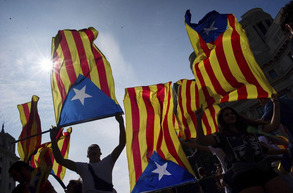 Foto: Manifestaciones 1-O. (EFE)