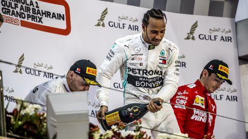 Hamilton se encuentra la victoria en el día horribilis de Ferrari y de Carlos Sainz