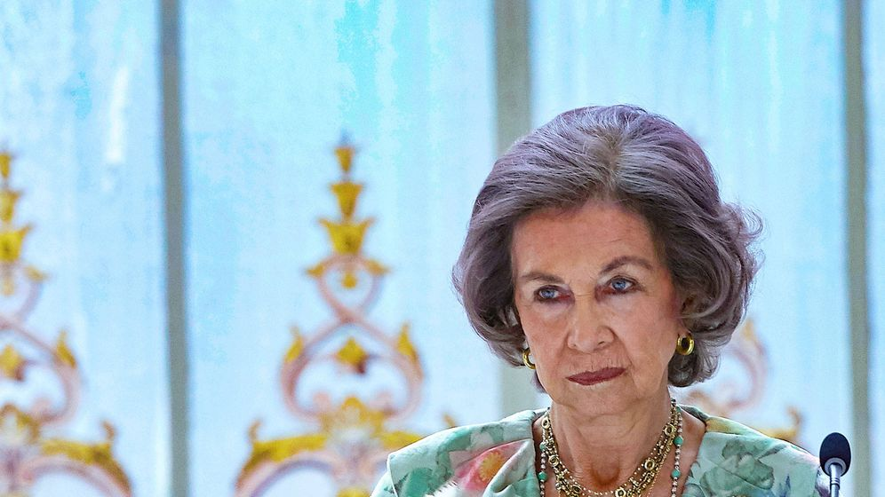 Foto:  La reina Sofía, en un acto institucional. (Limited Pictures)
