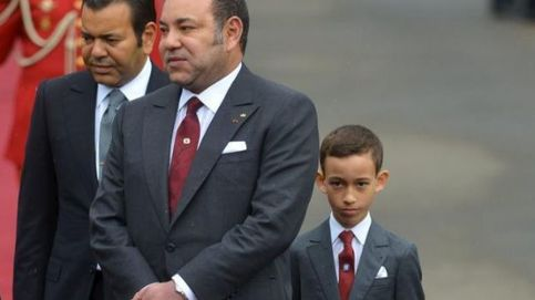 El príncipe Hassan de Marruecos, todo un caballero a sus 12 años