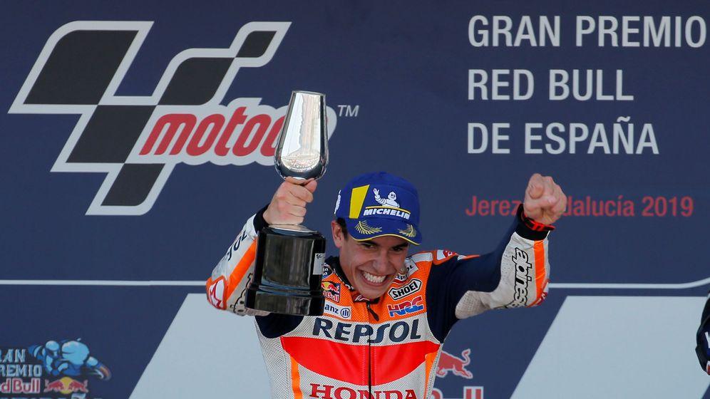 Foto: Marc Márquez en el Gran Premio de España. (Reuters)
