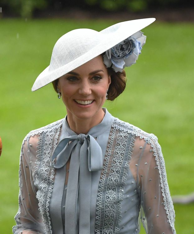 Foto: Kate Middleton, en Ascot 2019. (Cordon Press)