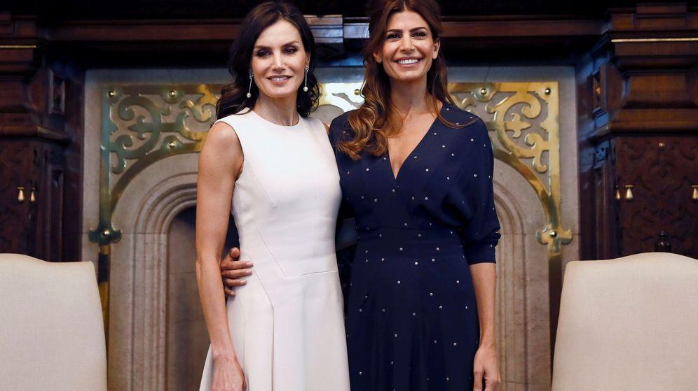 Foto: La Reina y Juliana Awada. (Efe)