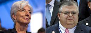 La francesa Lagarde y el mexicano Carstens se disputarán la dirección del FMI
