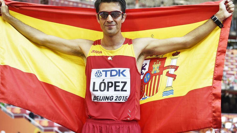 Miguel Ángel López hace historia con su oro en el Mundial de atletismo de Pekín