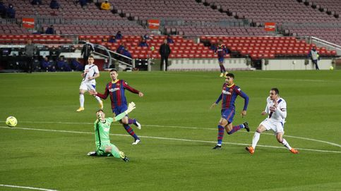 El Barça tira medio partido, peca de ingenuo y pierde dos puntos ante el Eibar (1-1)