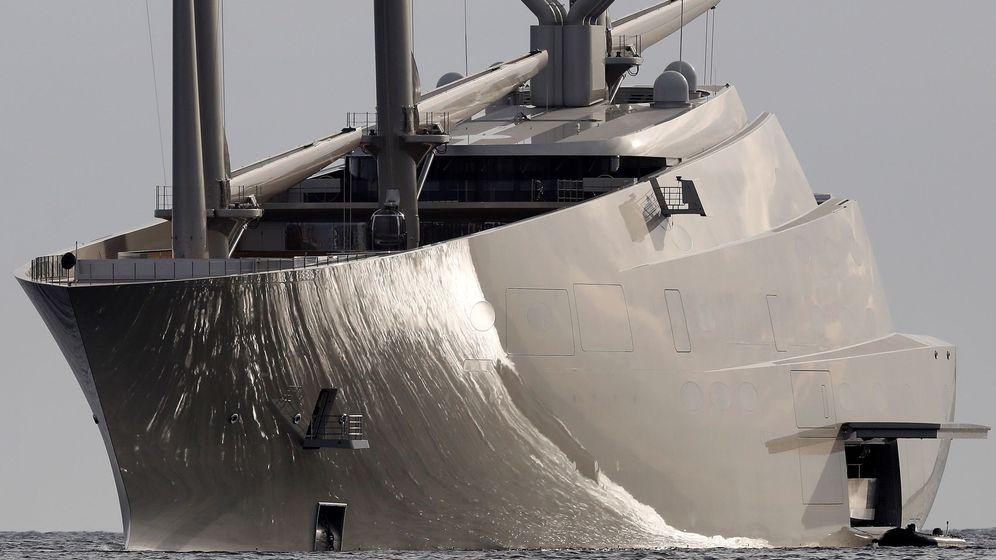 Foto: El yate a vela más grande del mundo. (EFE)