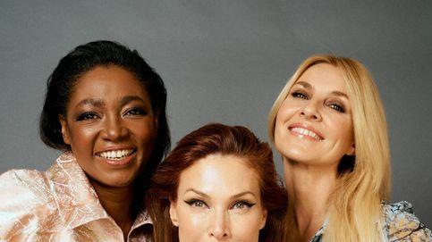 Así han maquillado a las modelos de más de 40 en el desfile de Ángel Schlesser